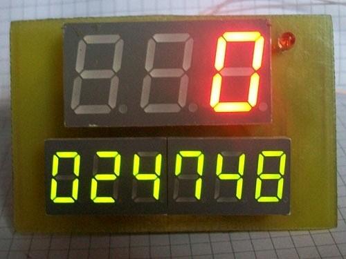 Одометр и спидометр своими руками 7