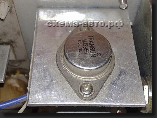 транзистор в кряколке фото