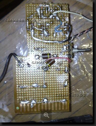 Простой инвертор 12-220 Вольт на 100 ватт плата