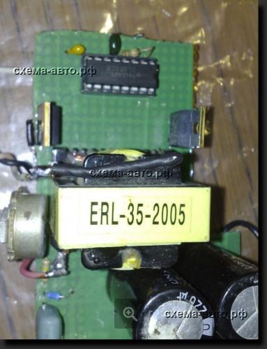 Простой инвертор 12-220 Вольт на 100 ватт фото