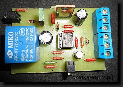 ДХО на микроконтроллере PIC12F629