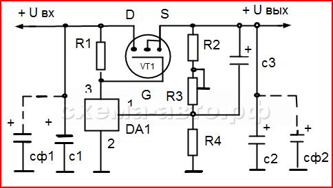 Простой регулятор мощности схема