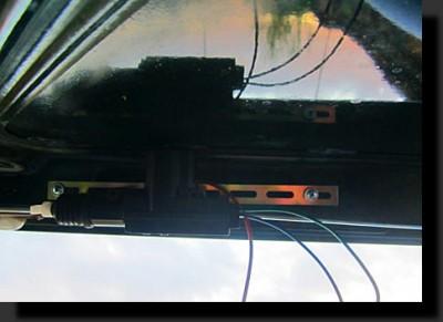 подключение активатора багажника фото