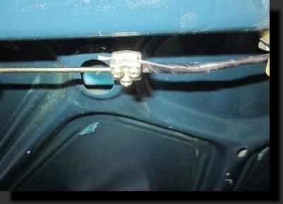 Открытие багажника с кнопки своими руками.