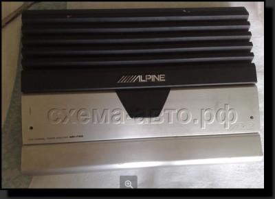 Мощный усилитель ALPINE mrv-f450 (обзор)