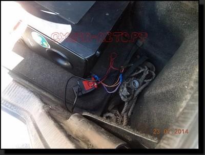 DSCN3115 400x303 - Усилитель от домашнего кинотеатра в машину
