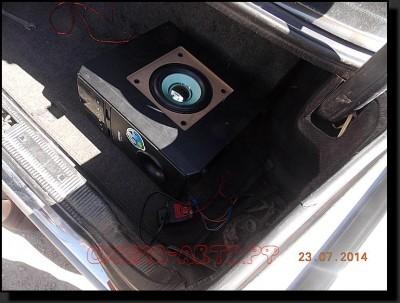 DSCN3118 400x303 - Усилитель от домашнего кинотеатра в машину