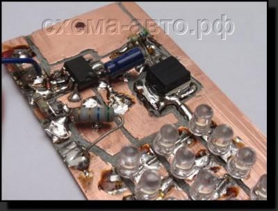 Автомобильный стробоскоп на таймере 555