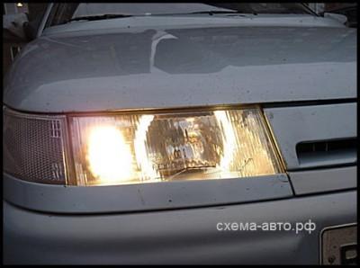 Ангельские глазки для ВАЗ 2110 своими руками