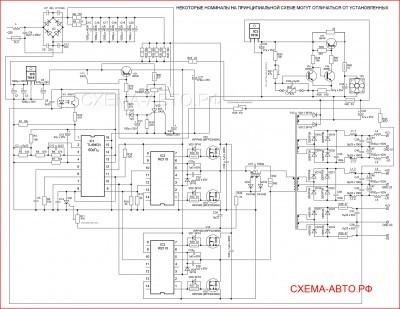 Блок питания 4000 ватт - пусковое зарядное устройство, схема